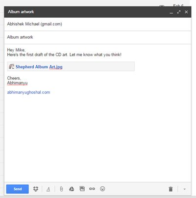 Dropbox Gmail