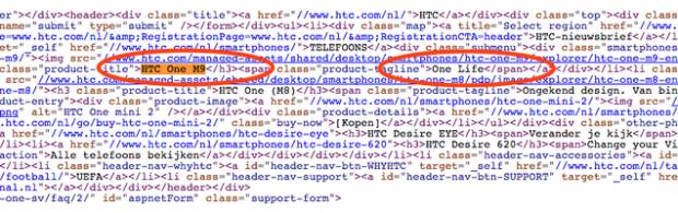 HTC M9 conferma