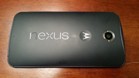 Nexus 6 logo peeling off