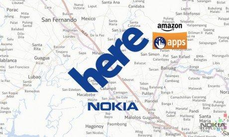 Nokia Here Amazon
