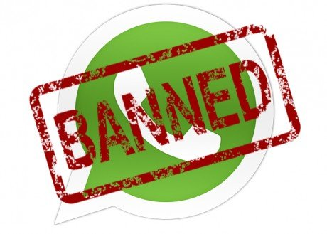 Apertura whatsapp banned