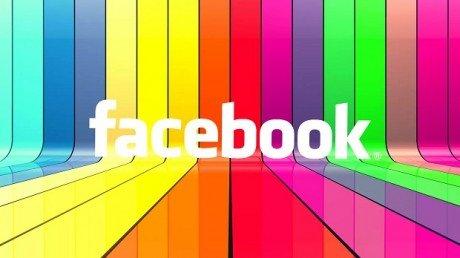 Facebook colorato