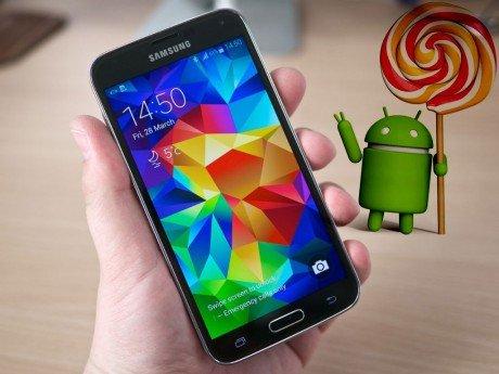 Galaxy s5 lollipop update1