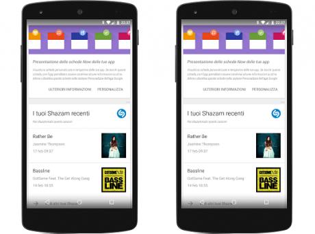 Google now app terze