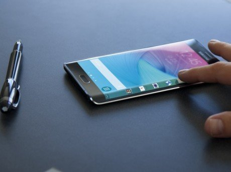 Samsung galaxy note edge display