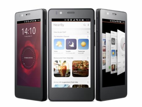 Ubuntu aquarius phone