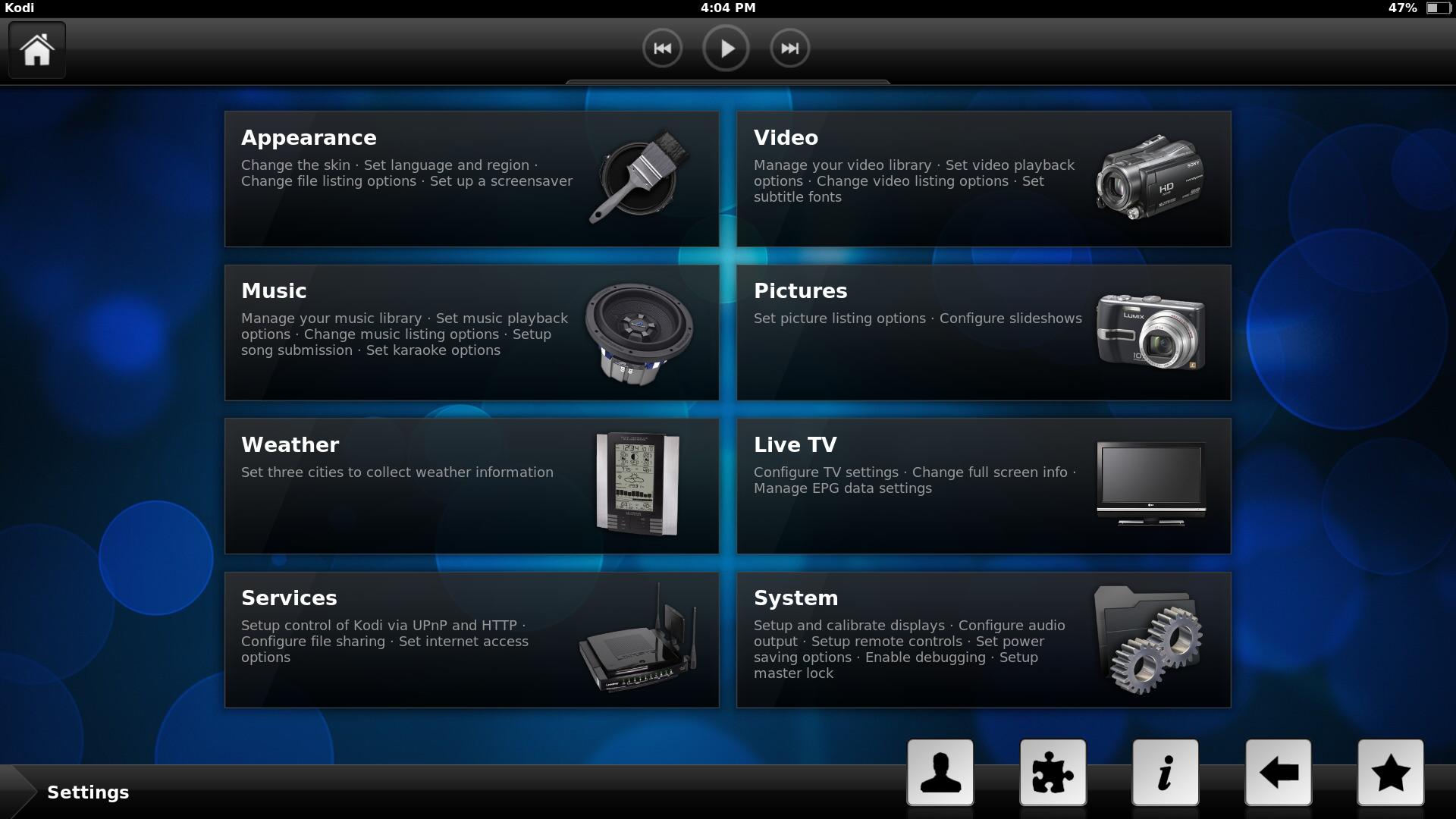 kodi per android approda sul play store in versione beta tuttoandroid. Black Bedroom Furniture Sets. Home Design Ideas
