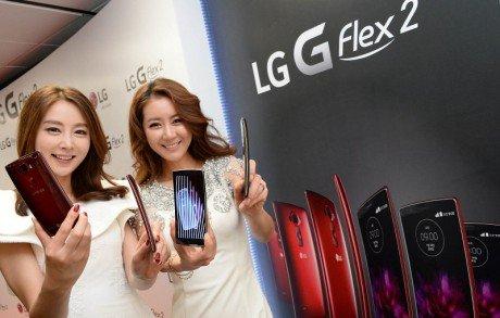LG G Flex 2 launch