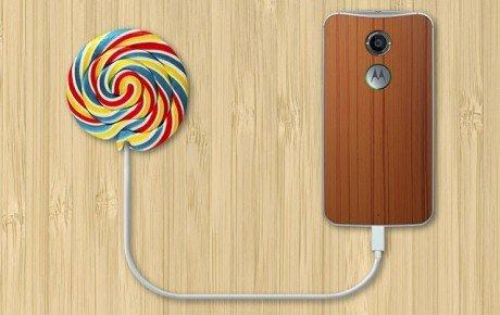 MotoG Lollipop