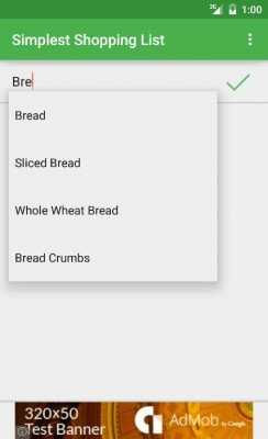 Simplest Shopping List-2