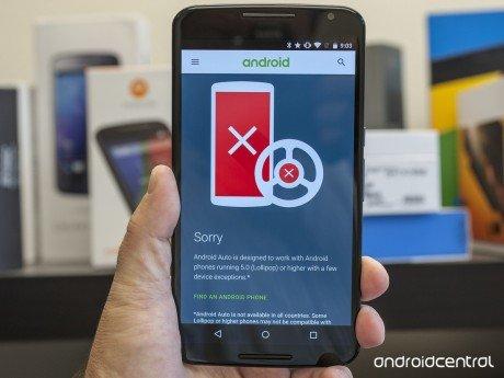 Android auto check