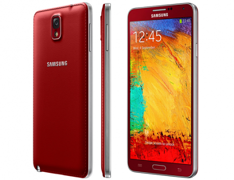 Galaxy note 3 rosso red