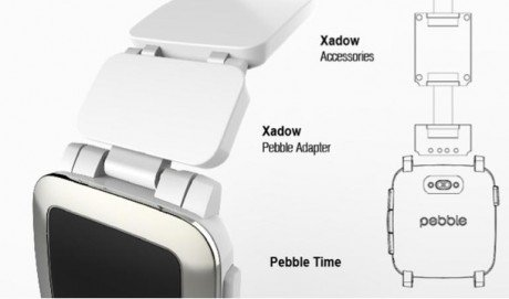 Pebble smart strap