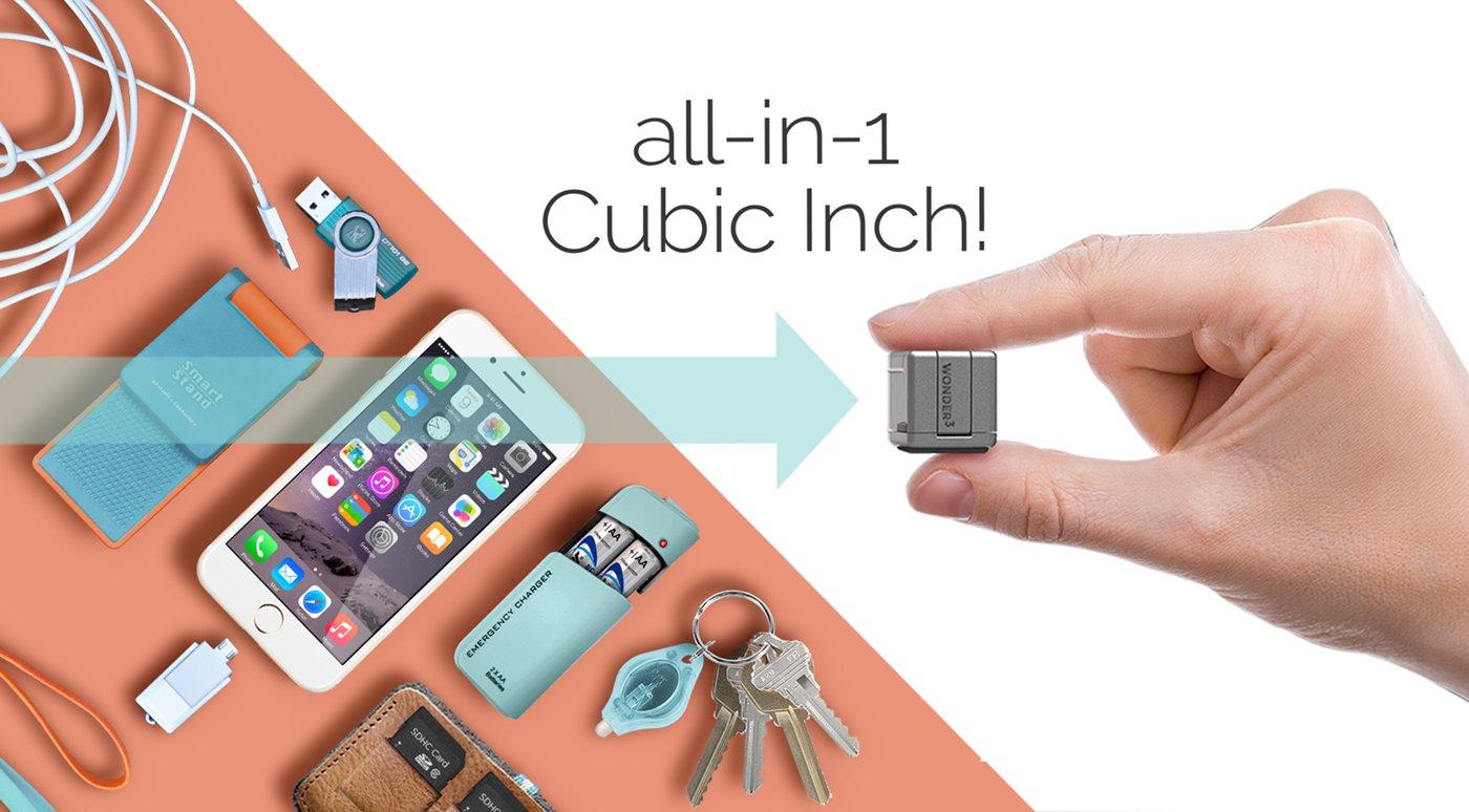WonderCube, un cubo che racchiude ben 7 funzioni in un pollice di grandezza