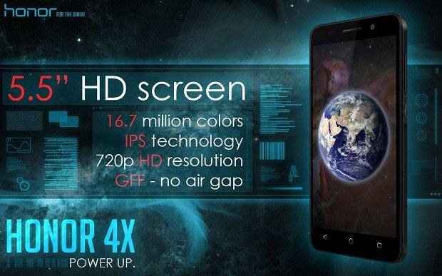 Honor 4X sarà disponibile in Italia dal 13 Aprile