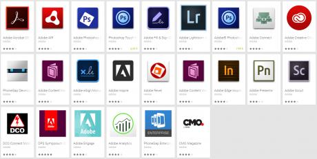 Adobe App Android su Google Play e1429227727361