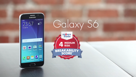SquareTrades Galaxy S6 breakability test 1