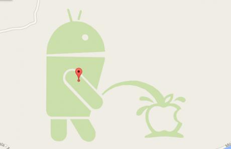 Android fa la pipì su apple