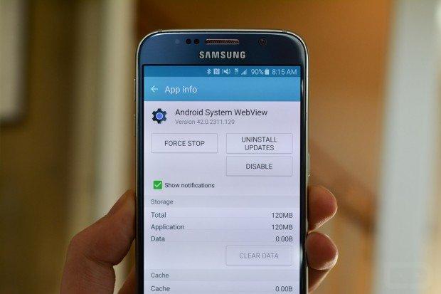 Problemi di crash delle app? La causa potrebbe essere Android System Webview