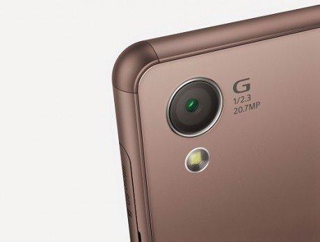 Sony xperia z3 13 copper camera