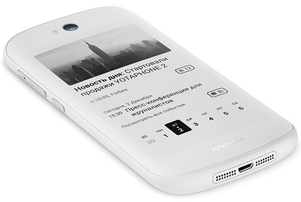 YotaPhone 2 si aggiorna ad Android 5.0 Lollipop