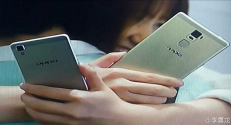 First look at the Oppo R7 Plus shows a fingerprint scanner on the back1