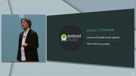 Google IO 2015 android atudio 1.3 840x473