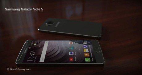 Samsung Galaxy Note 5 concept renders 1