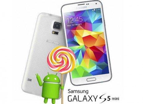 Samsung Galaxy S5 Mini android 5.0