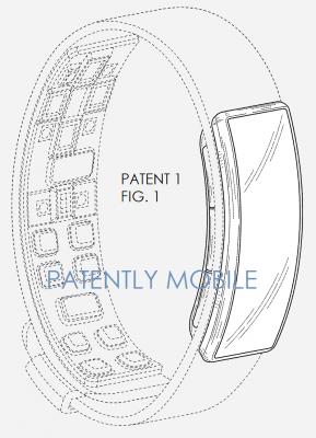Samsung-Gear-Fit-Design-Patent-USPTO