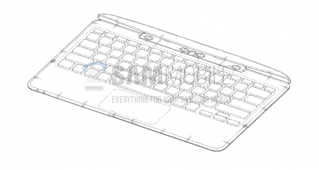 Samsung-Keyboard-Cover-Design-Patent-USPTO