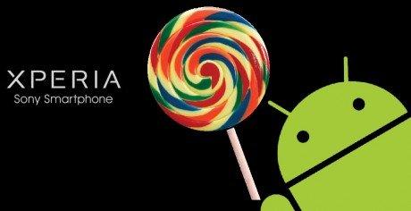 Sony Xperia logo Android L