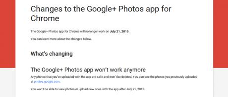 App chrome googleplus foto