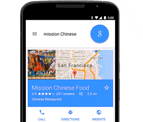 Google search cibo