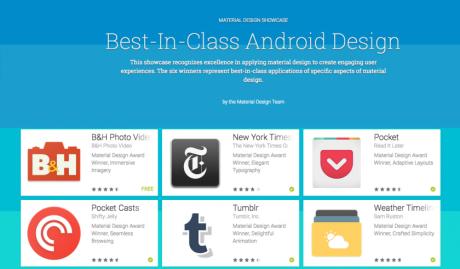 material design migliori app