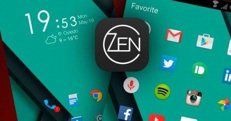 Zen launcher android