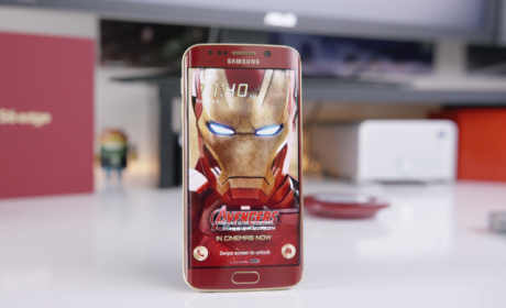 Iron Man Edition Samsung Galaxy S6 Edge hands on 640x390