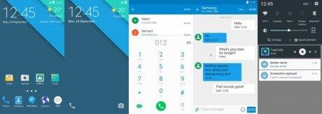Samsung Galaxy S6 Edge Stock Android Material Theme Samer Zayer1