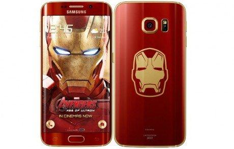 Samsung Galaxy S6 edge Iron Man Limited Edition e1434107486290