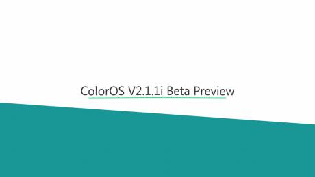 Color os 2.1.1i