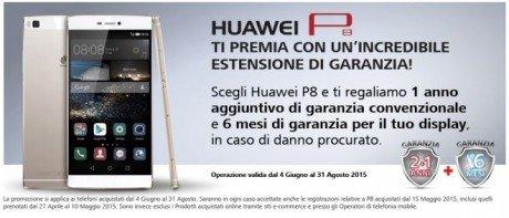 Huawei p8 garanzia
