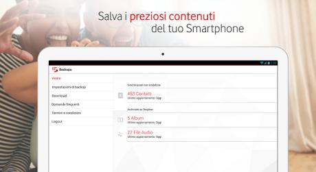 Vodafone backup plus