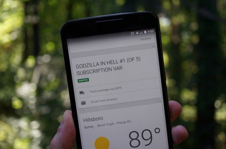 Google Now Shipping Card 2