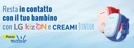 PosteMobile LG KizOn Creami Junior