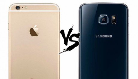 Galaxy s6 iphone 6 plu