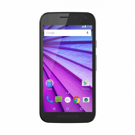 Motorola moto g 3rd gen 8gb schwarz mobiltelefon front