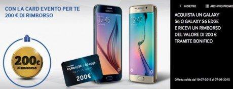 Samsung galaxy s6 offerta