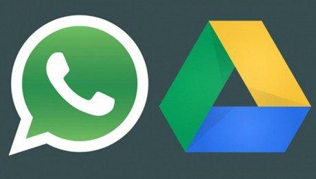 Whatsapp backup google drive e1437648158869