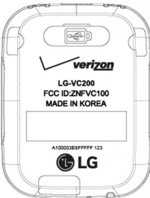 smartwatch LG-VC200