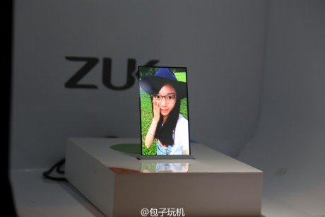 ZUK transparent screen phone prototype 1